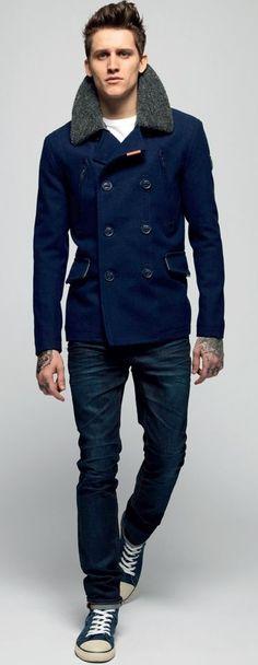 That blue coat!