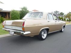 rear and drivers side view of 1966 Holden HR Premier