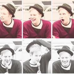 His face is so cute! Love Patrick stump