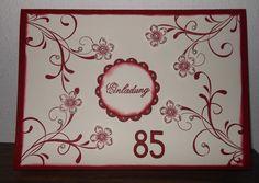Geburtstagseinladung 85er