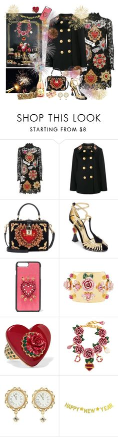"""""""To all my beautiful followers! Thank you for the year! Let's style 2018😘"""" by juliabachmann ❤ liked on Polyvore featuring Dolce&Gabbana and Ultimate"""