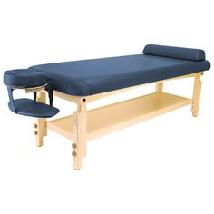 Master Massage 30''Laguna Stationary Massage Table, Navy Blue * Check out this great product. (Note:Amazon affiliate link)