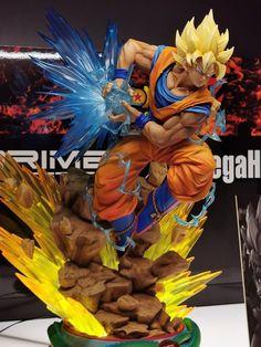Dragon Ball Z : Statue Son Gokû par Prime 1 Studio x Mega House Dragon Ball Z, Anime Figures, Action Figures, Dbz Gt, Son Goku, Cool Cartoons, Classic Toys, Cool Items, Figurative Art