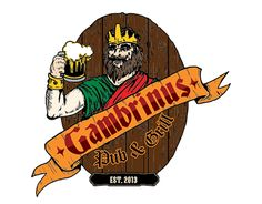 "Check out new work on my @Behance portfolio: ""Gambrinus Pub & Grill New Logo"" http://be.net/gallery/51573449/Gambrinus-Pub-Grill-New-Logo"