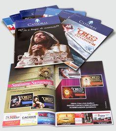 Job: Revista Catedral Cliente: Paróquia Santo Antônio – Governador Valadares