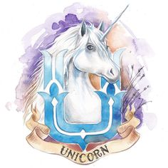 #единорог #dayanumfactory #unicorn #watercolor #watercolour #sketch #draw…