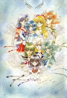 Naoko Takeuchi, Toei Animation, Bishoujo Senshi Sailor Moon, Hotaru Tomoe, Sailor Neptune