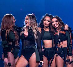 Little Mix: Ariana Grande Dangerous Woman Tour Little Mix Outfits, Little Mix Girls, Little Mix Style, Little Mix Fashion, Little Mix 2017, Little Mix Jesy, Little Mix Perrie Edwards, Jesy Nelson, Musica Little Mix