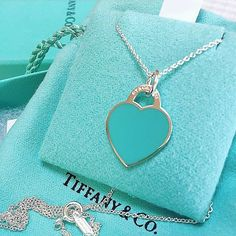 Tiffany And Co Necklace, Tiffany Bracelets, Teal, Turquoise, Blue, Charmed Book Of Shadows, Of Brand, Bling Bling, Affair