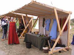 medieval market stalls - Google Search