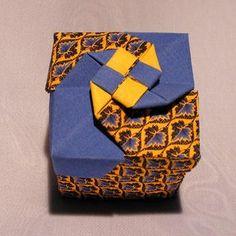 桃谷好英风车折纸盒子图纸教程手把手教你制作折纸盒子