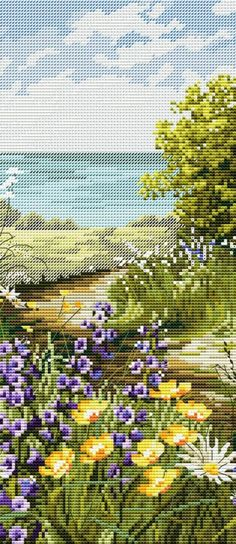 Gallery.ru / Фото #1 - 15 - TATO4KA6 Cross Stitch Cards, Cross Stitch Flowers, Cross Stitch Kits, Cross Stitch Designs, Cross Stitching, Cross Stitch Embroidery, Embroidery Patterns, Hand Embroidery, Cross Stitch Patterns