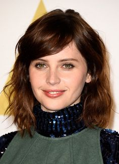 Felicity Jones hair and makeup                                                                                                                                                     More