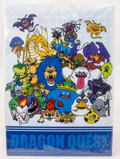 Dragon Quest 25th Anniversary File Holder 3pc Set SQUARE ENIX JAPAN ANIME GAME