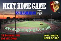 Home v Llanharan 7th December 2013