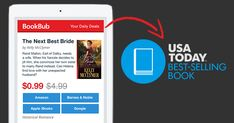 See how hybrid author Kelly McClymer hit the USA Today bestseller list by coordinating marketing activities with a BookBub Featured Deal!