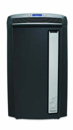 The De'Longhi Pinguino PAC can cool a room up to 450 square feet on hot days and also be used as a heat source in the colder months or as a dehumidifer when needed. The latrge LCD display makes it eas...