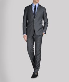 Every day work clothes Mens Attire, Mens Suits, Suit Fashion, Mens Fashion, Terno Slim, Charcoal Suit, Indian Men Fashion, Le Male, Elegant Man