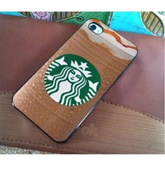 Starbucks iPhone case!! This is so cute but if I had this I would be craving a frap everyday!!!!!!