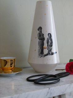 Fools Gold ceramic vase