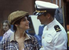 Paula (Debra Winger) and Zack (Richard Gere) ~ An Officer And A Gentleman Richard Gere, Best Movie Couples, Famous Couples, Nora Ephron, Top Romantic Movies, Romance Movies, Celebrity Feuds, Gentleman Movie, Debra Winger