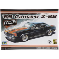 1969 Camaro Z-28 Model Car Kit