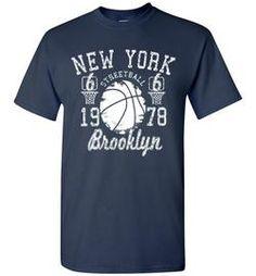 New York street ball Brooklyn urban printed t shirt tee