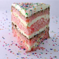 Strawberry Lemonade Birthday Cake!