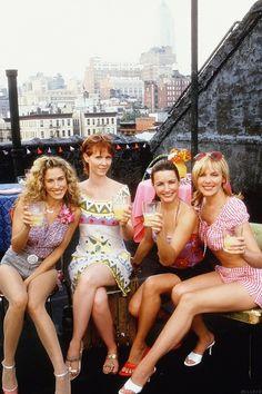 Meet my friends Carrie, Miranda, Charlotte and Samantha. I sure miss them! #satc   FOLLOWING APRIL