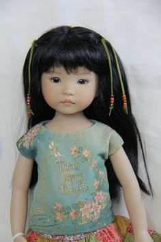 """13"""" Little Darling 'THE Original ZOE Wang' Painted BY Dianna Effner 