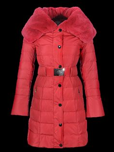 Online shopping women moncler long fur coats red in general is known for being convenient.