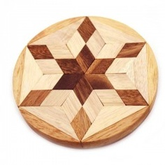 Wooden Puzzles : Wooden Puzzles - Star Jigsaw Puzzle