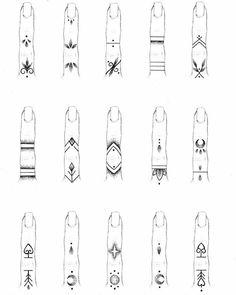 Finger Tattoo Designs, Finger Tattoo For Women, Hand Tattoos For Women, Henna Tattoo Designs, Tiny Finger Tattoos, Tattoo Finger, Tattoos For Fingers, Dainty Tattoos, Symbolic Tattoos