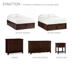 Stratton Nightstand | Pottery Barn