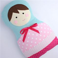 I want to makes some matroshka pillows... maybe a full bed set.