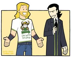 Thor looks so proud of himself