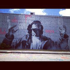 #retna #streetart http://www.widewalls.ch/artist/retna/