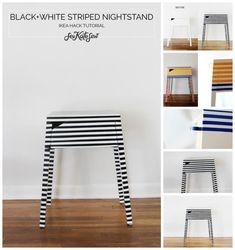 Very Striped Nightstand.