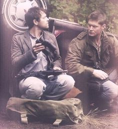 Cas & Dean. I love the fact that in the future Castiel chooses to be w/ Dean. Chooses to stay with him even to the end.