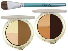 @Senna Cosmetics Face Sculpting Kit - This is the all-in-one, simple as pie, contour and highlight like a Kardashian kit.