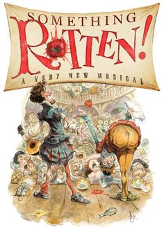 From the co-director of 'The Book of Mormon' and the producer of 'Avenue Q' comes something original… something fresh... 'Something Rotten!', a world-premiere musical comedy about the musical comedy that started it all. #Broadway