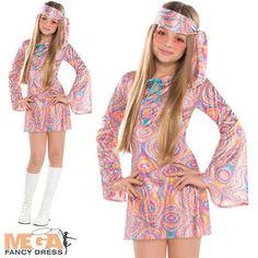 419d8df4f 60s 70s Disco Darling Kids Go-Go Costume in 2019