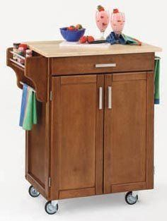 Home Styles 9001-0061 Small Cabinet Kitchen Cart by Home Styles. $249.00. Save 36% Off!