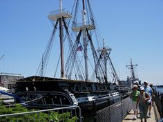 Old Ironsides, the U.S.S. Constitution