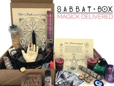 Sabbat Box: A subscription box for Pagans and Wiccans delivered to you for each Sabbat. Each Sabbat Box is filled with an assortment of magical products that are meant to inspire you to live magically. Sign up by May 20th, 12:00PM EST to get the Litha Box. #sabbatbox #subscriptionboxforpagans #pagan #wiccan #wheeloftheyear #magick #witchcraft http://www.sabbatbox.com