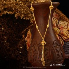Gold Chain Design from Josalukkas, Josalukkas Gold Jewellery Designs.