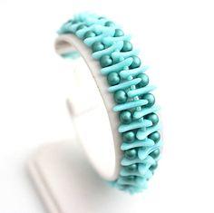 Lace Jewelry, Diy Jewelry, Jewelry Bracelets, Handmade Jewelry, Jewelry Design, Jewelry Making, Jewelry Ideas, Beaded Bracelet Patterns, Beading Patterns