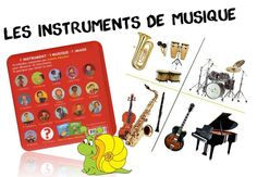 Mes ressources pour travailler sur les instruments de musique - Caracolus Music School, Music Class, Core French, Music For Kids, Teaching Music, Kids Learning, Preschool, Projects To Try, Classroom