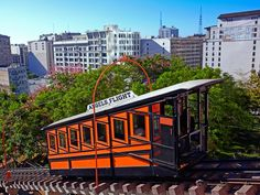 The Bunker Hill funicular used to be one of the best ways to see L.A., but it closed in 2013. The La La Land filmmakers got permission to use Angels Flight for just one day, where it can be seen in one of Mia and Sebastian's date montages.