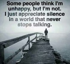 Not an introvert Problems — just too darn much noise in the world! Very few really appreciate the sounds of silence! Wisdom Quotes, True Quotes, Great Quotes, Motivational Quotes, Inspirational Quotes, Poetry Quotes, Quotes Quotes, Your Amazing Quotes, Jolie Phrase